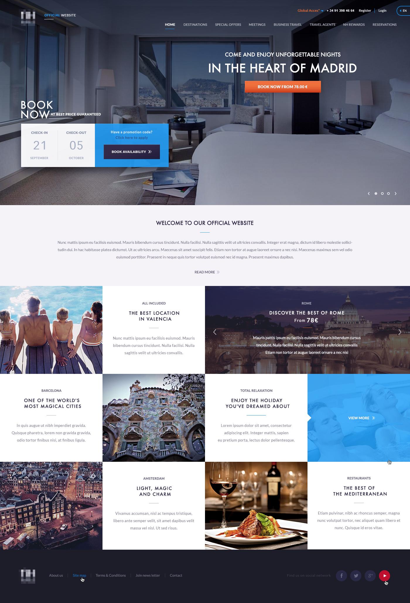 Best Practices Of Hotel Website Ux Design Hashtag